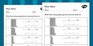 best ideas of place value partitioning worksheets also resume
