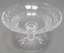 Vintage Waterford Cut Glass Crystal Vase Starburst Pattern Waterford Compote Ebay