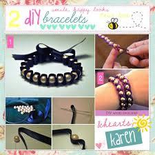 bracelet diy tutorials images 20 beautiful easy diy bracelet tutorial 2015 london beep jpg