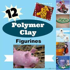 12 polymer clay figures favecrafts com