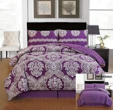Purple Full Size Comforter Set 43 Best Bed In A Bag Comforter Sets Images On Pinterest