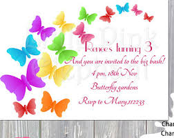 butterfly invitation etsy