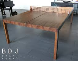 home ping pong table original one of a kind ping pong table handmade in austin tx