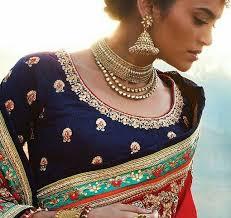 best blouse embellished saree blouse designs 2018 best 7 picks