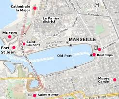 marseilles map marseilles travel and tourist information in