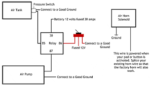 air horn wiring diagram air wiring diagrams instruction