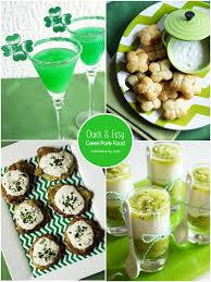 st patrick u0027s day green party cocktail recipes and saints