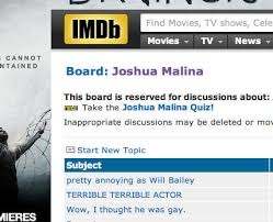 what happened to imdb message boards joshua malina on twitter feeling good about the top three