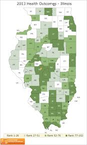 County Map Illinois by Illinois Rankings Data County Health Rankings U0026 Roadmaps
