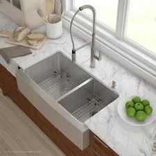 36 stainless steel farmhouse sink stainless steel farmhouse apron sinks the sink boutique