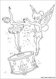 tinkerbell coloring page disney fairies poussière de fées