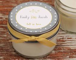 wedding favor candles wedding favor candles laurel label design thank you