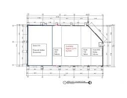 floor plan for bakery amax investment company
