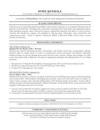 bank resume template banking resume template gallery of personal banker objectives sle