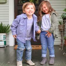 video of kids acting like chip and joanna gaines popsugar home