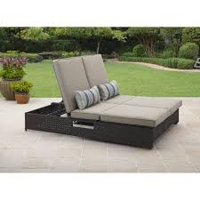 Wicker Sofa Bed by Better Homes And Gardens Avila Beach Double Lounger Sofa Walmart Com