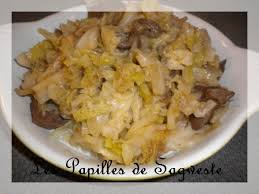 comment cuisiner le coeur de boeuf recette de chou poêlé au coeur de boeuf les papilles de sagweste