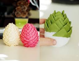 tree decorations made from materials 20 ideas to