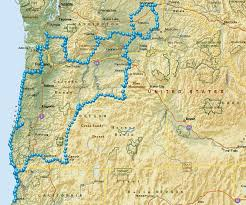 map of oregon state parks july 2013