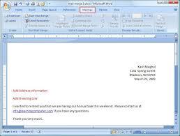 office 2013 mail merge microsoft word mailings tab