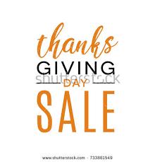 black friday thanksgiving sale vector illustration stock vector