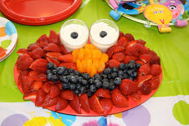 elmo party ideas inspired by the vegetable elmo appetizer food elmo