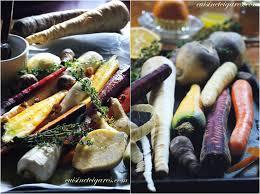cuisiner les l馮umes anciens légumes anciens rôtis au four cuisine et cigares