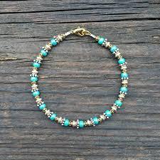 beads bracelet diy images Bead stringing 101 beaded bracelet making kit turquoise colored jpg