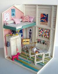 59 Best Barbie Homes Ideas by 210 Best Dollhouse U0026 Miniatures Images On Pinterest Crafts