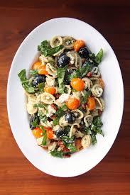 cold salads pesto pasta salad recipe popsugar food
