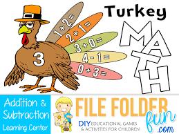 free kindergarten turkey math free homeschool deals