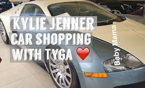 tyga yellow bentley kylie jenner car shopping with tyga at the thousand oaks auto mall