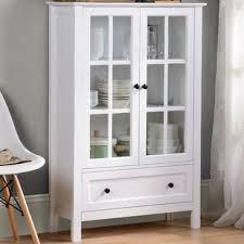 display china cabinets furniture display cabinets you ll love wayfair ca