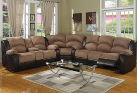 Sectional Sofas With Recliners Awesome Leather Reclining Sectional Sofa Bed Sofas With Regard To