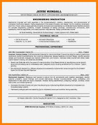 resume samples for mechanical engineers resume examples templates