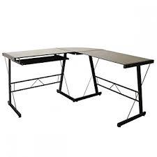 Corner Laptop Desks For Home L Shaped Computer Desk Corner Desk Glass Laptop Table
