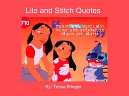 lilo stitch quotes