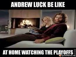 Andrew Meme - andrew luck offseason meme