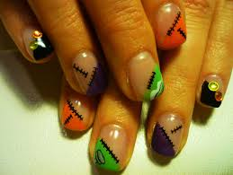 creative and easy halloween nail art designs lustyfashion