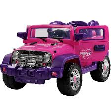 pink jeep 2 door kids 12v 4wd 4 wheel drive wrangler style 4 x 4 jeep utv