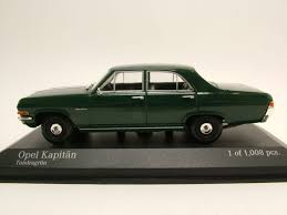 green opal car opel captain 1964 green model car 1 43 minichamps ebay