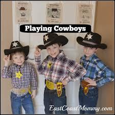 cowboy fun cowboy crafts pretend play and activities