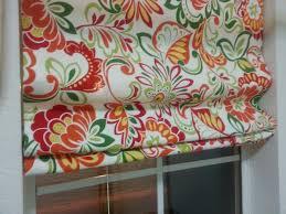 laundry window treatment diy u2013 roman shade and a valance home