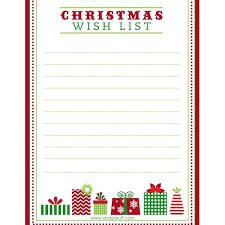 christmas wish list free printable letter to santa christmas wish list and tag