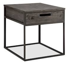 nightstand attractive shape wooden sofa table with round top and