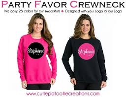 bar mitzvah favors sweatshirts party favors