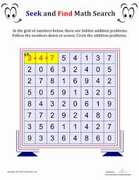 printable word search puzzles for 1st graders math search worksheet education com