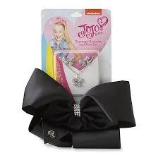 jojo earrings siwa oversized hair bow earrings bracelet