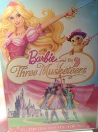 barbie musketeers dvd video