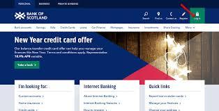 bank of scotland online banking login cc bank